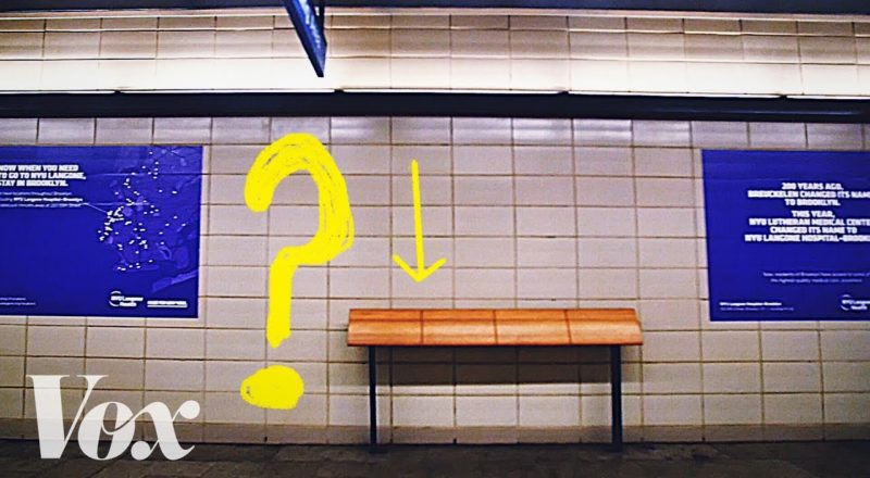Why cities are full of uncomfortable benches?