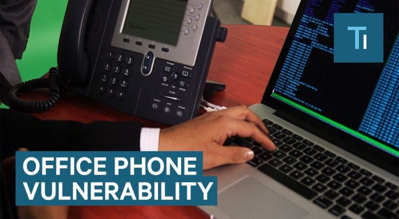 Hackers Can Tap Into Office Phones