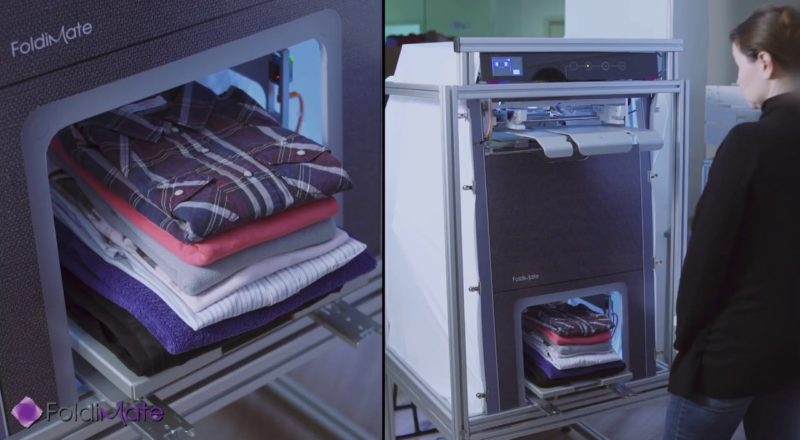 1000 dollar clothes folding machine