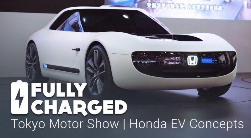 Honda EV Concept at Toyko Motor Show