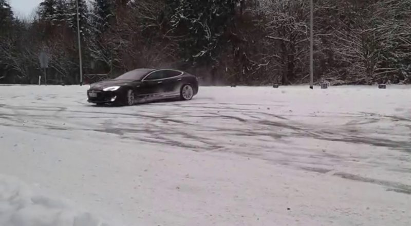 Tesla's Silent Snownuts