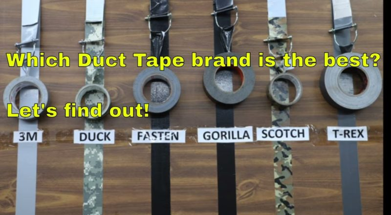 Which Duct Tape Brand Is Better?