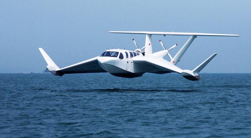 Airfish 8 - Half Boat Half Plane