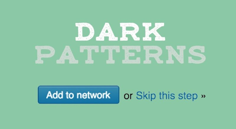 How Dark Patterns Trick You Online