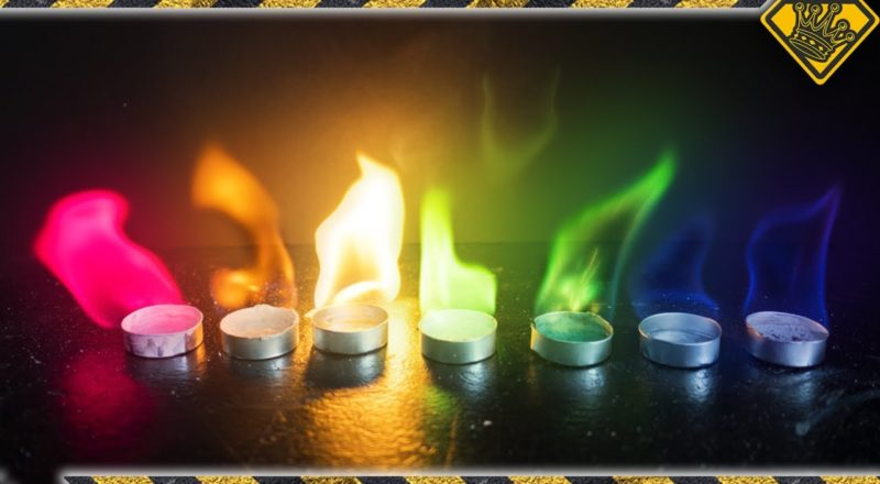 How to Make Rainbow Fire