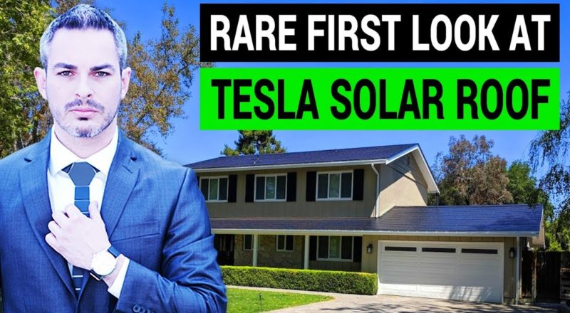 Tesla Solar Roof Installed on First Customer Homes