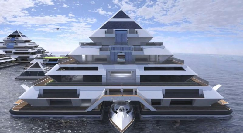 Wayaland: The incredible floating pyramid city of the future