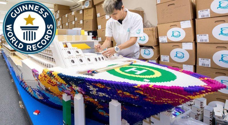 World's Largest LEGO Ship Revealed - 2.5 Million Bricks