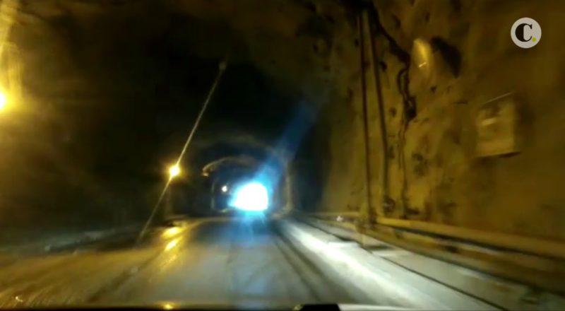 Strange Phenomena under hydroelectric plant tunnels - Colombia