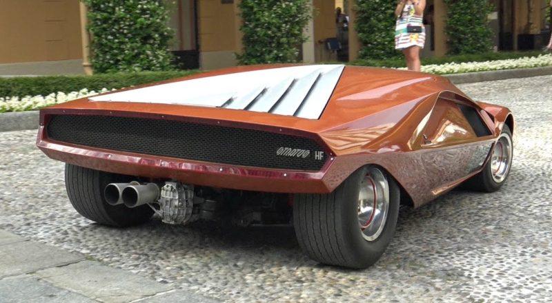 1970 Lancia Stratos HF Zero Concept