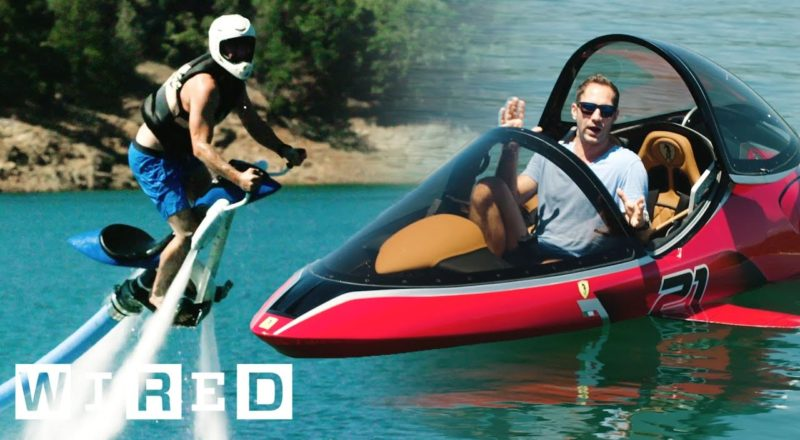 Test Driving This Summer's Wildest Watercraft