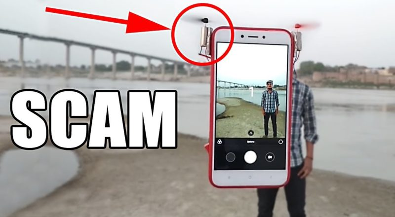 Debunk the Flying Selfie Phone Scam
