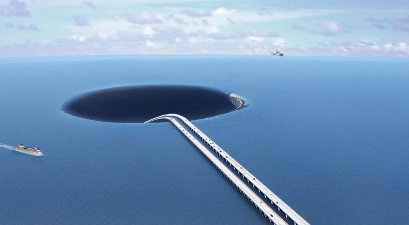 What If We Make A Tunnel Under The Ocean?