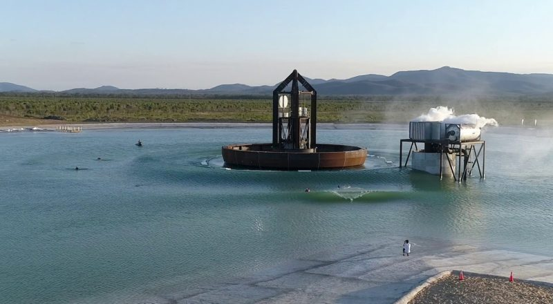 First look at a new wave pool in Australia
