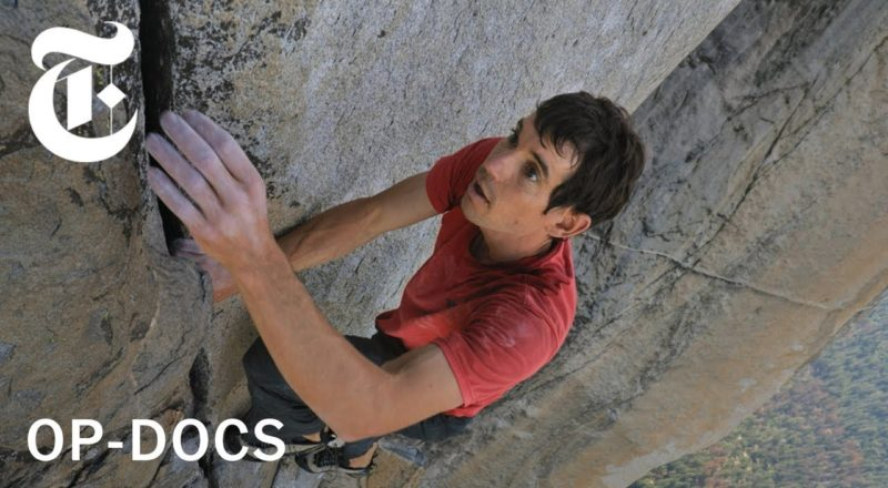 """What if He Falls? The Terrifying Reality Behind Filming """"Free Solo"""""""