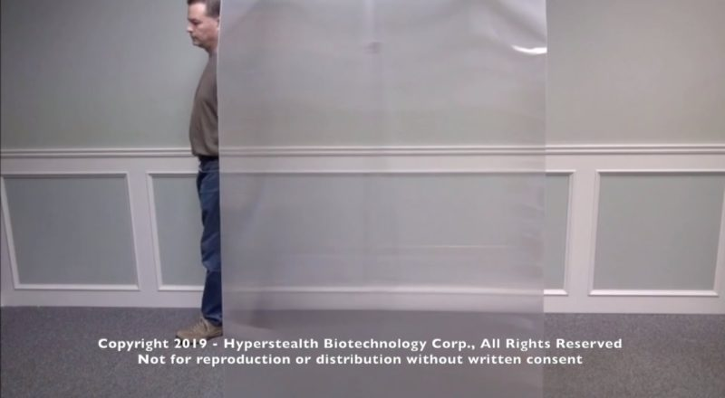 Canadian Company Has Created An Incredible Invisibility Shield