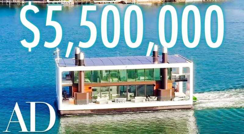 Inside a $5.5M Floating Mansion in Miami