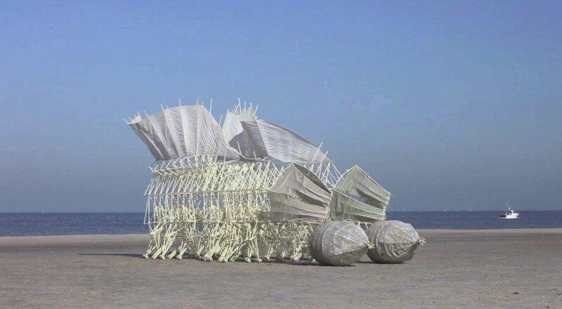 Strange Surreal Moving Structures