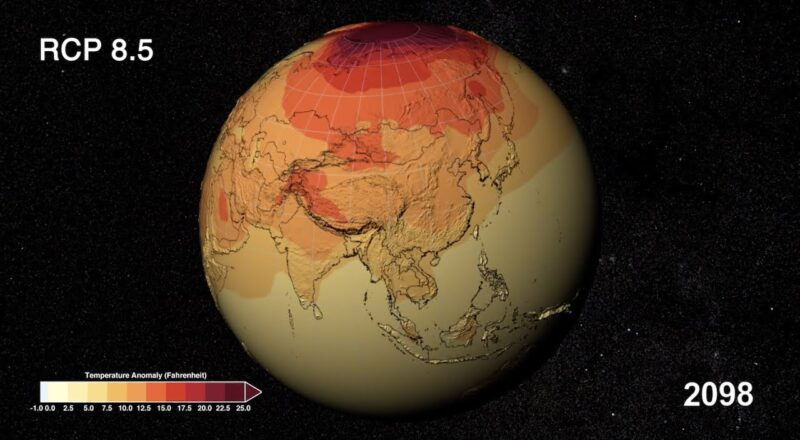 Timeline of the Next 80 Years - Global Warming
