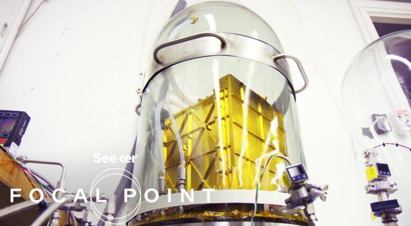 NASA's Gold Box Will Make Oxygen on Mars