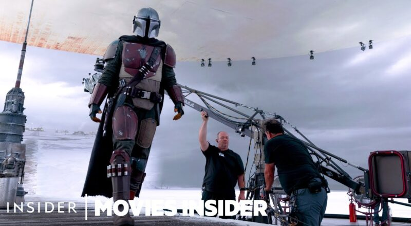 How LED walls were used to replace green screens in The Mandalorian