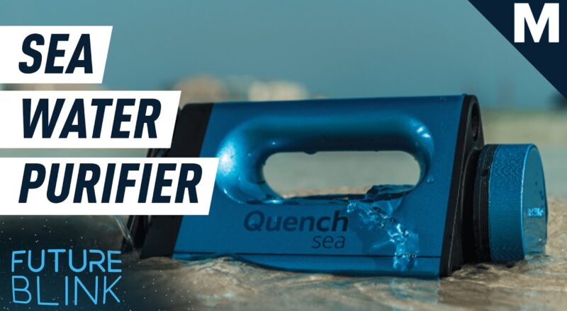 Portable Device Turns Seawater Into Drinking Water