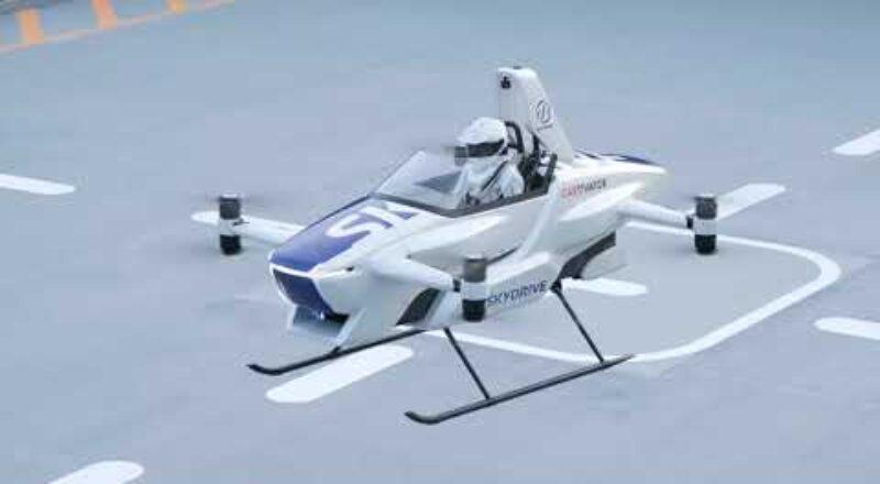 Japan's 'flying car' gets off ground
