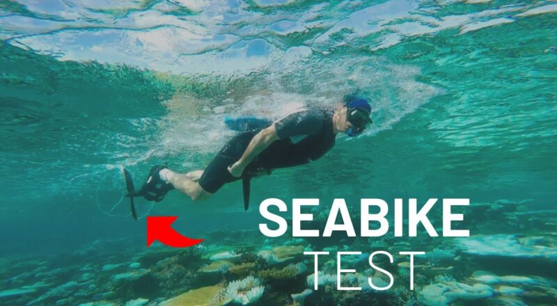 SeaBike - Device for Rapid Movement in the Water