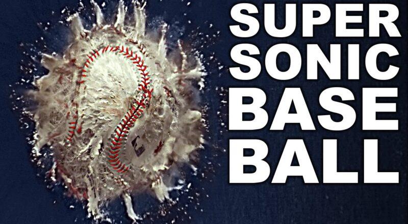 Supersonic Baseball Cannon (World's Fastest Baseball)