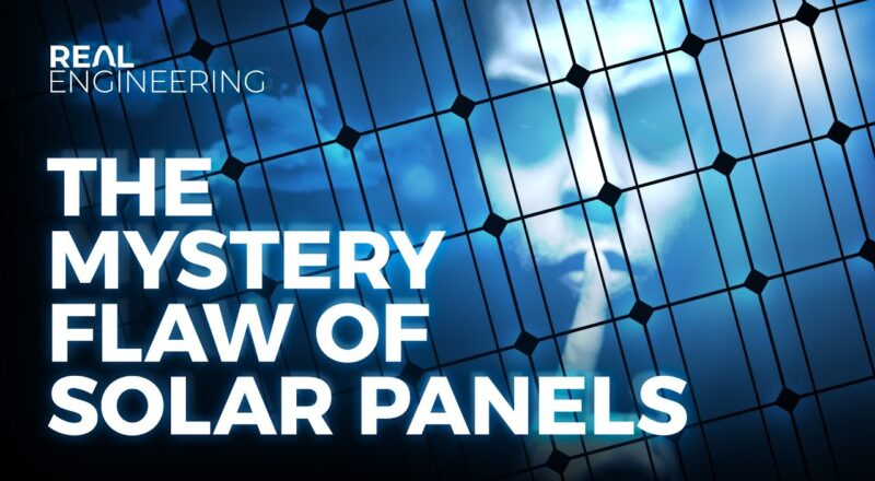 The Mystery Flaw of Solar Panels