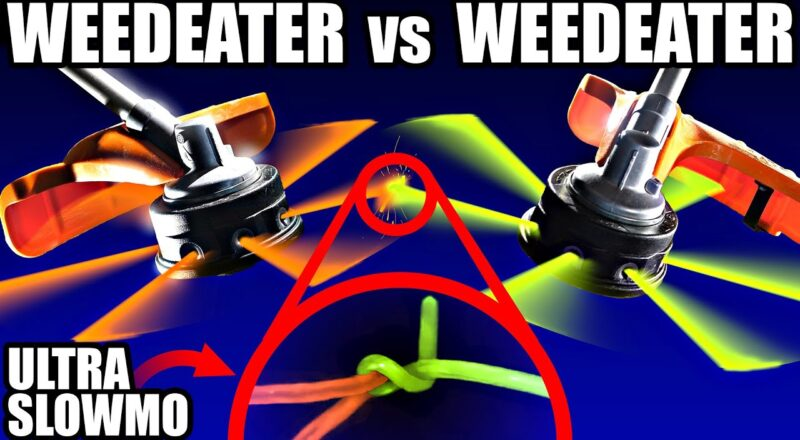 WeedEater Battle in Slow Motion